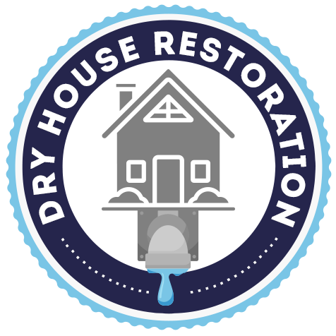 Dry house Restoration official logo