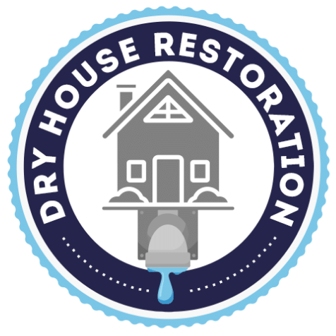 square dry house restoration logo