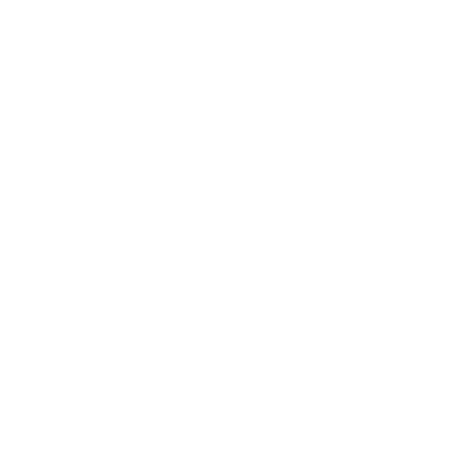 trash can icon in white
