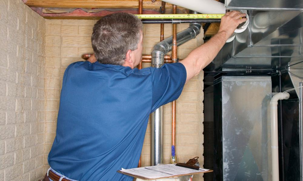 basement water seepage inspection