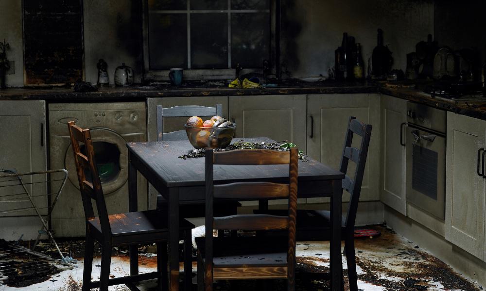 furniture damaged from smoke
